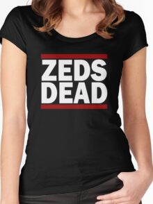 ZEDS DEAD BABY Women's Fitted Scoop T-Shirt