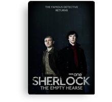 Sherlock Series 3 Canvas Print
