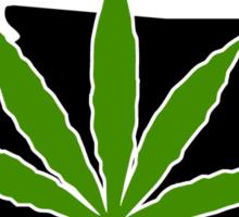 Washington Marijuana Cannabis Weed T-Shirt Sticker
