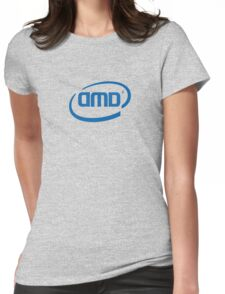 AMD INTEL Womens Fitted T-Shirt