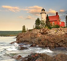 Eagle Harbor Lighthouse, Eagle Harbor, Michigan by DArthurBrown