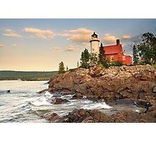 Eagle Harbor Lighthouse, Eagle Harbor, Michigan Photographic Print