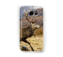 Red Deer Stag Running Samsung Galaxy Case/Skin
