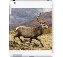 Red Deer Stag Running iPad Case/Skin