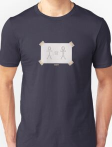 People Are People (Cool Colors, Black, & Grey) T-Shirt