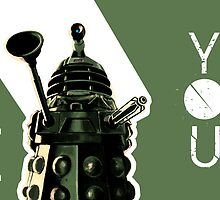 I Dalek You - Doctor Who by tetyline