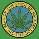 Washington Marijuana Cannabis Weed T-Shirt by MarijuanaTshirt
