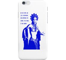 Queen Akasha from Queen of the Damned iPhone Case/Skin
