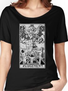 Judgment Tarot Card - Major Arcana - fortune telling - occult - Judgement Women's Relaxed Fit T-Shirt