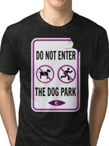 Night Vale - Dog Park Tri-blend T-Shirt