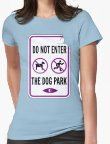 Night Vale - Dog Park Womens Fitted T-Shirt