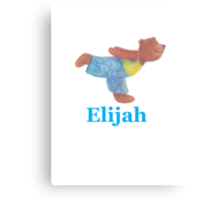 Grizzly Bear Elijah Canvas Print