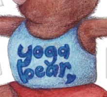 Warrior Yoga Bear  Sticker