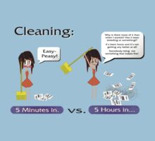 Cleaning. Never a good idea by Weber Consulting