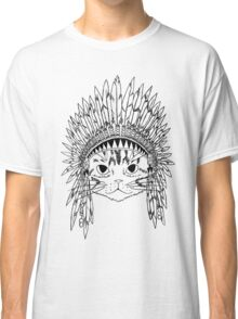 Chief Kitty - Black Classic T-Shirt