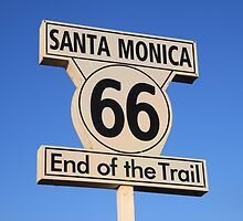 Route 66; End of the trail by CliveHarris