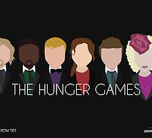 Blazers and Bow ties - Hunger Games by John Emmanuel Isorena