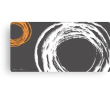 white storm Canvas Print