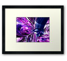 Tranquil Sedative Abstract Framed Print
