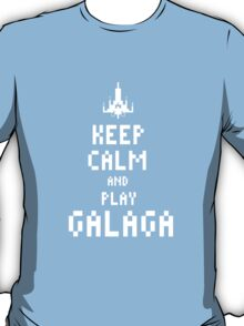 Keep calm and PLAY GALAGA T-Shirt