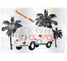 Van of 1962 - Summer feeling Poster