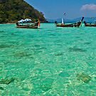 Turquoise Dreams In Thailand by KerryPurnell