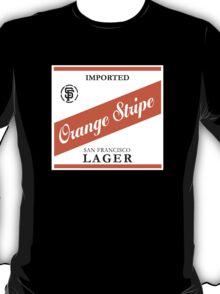 Orange Stripe Lager T-Shirt