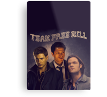 Team Free Will Metal Print