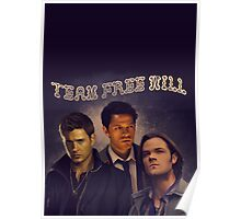 Team Free Will Poster