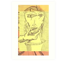 strangle hold Art Print