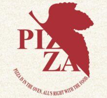Pizzavangelion Team Shirt Corporate  by BrianHoover156