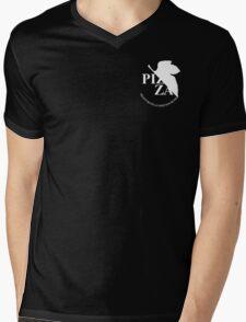 Pizzavangelion Team Shirt Corporate White Mens V-Neck T-Shirt