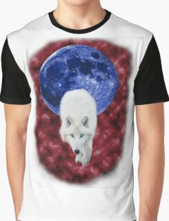 Red mist wolf Graphic T-Shirt