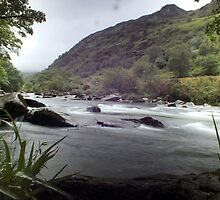 Pass of Aberglaslyn by Paul  Green