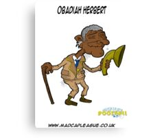 Obadiah Herbert Manager of Old Street Retirement Home Canvas Print