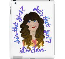 Jess - New Girl iPad Case/Skin