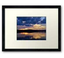 Reservoir Reflections Framed Print