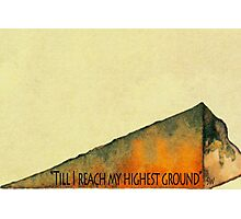 Higher Ground Photographic Print