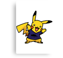 Punk Pikachu Canvas Print