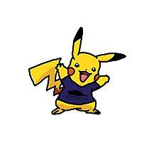 Punk Pikachu Photographic Print