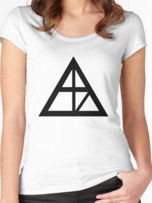 Alaska Sign Women's Fitted Scoop T-Shirt