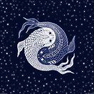 yin yang in space! by peter barreda
