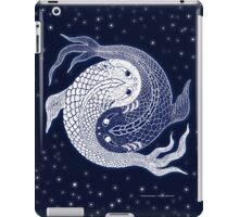 yin yang in space! iPad Case/Skin