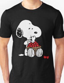 Snoopy Eats Cherry T-Shirt