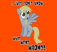 Derpy Hooves - What Went Wrong Kids Tee
