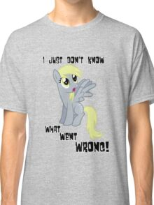 Derpy Hooves - What Went Wrong Classic T-Shirt