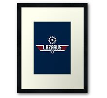 Lazarus Top Gun Framed Print