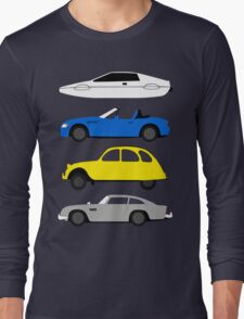 The Car's The Star: James Bond Long Sleeve T-Shirt