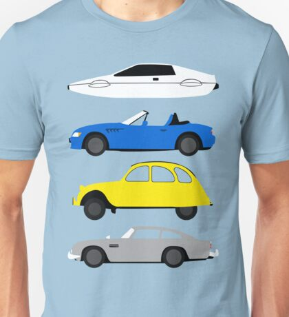 The Car's The Star: James Bond Unisex T-Shirt
