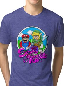 Saving Princesses Is Fun Tri-blend T-Shirt